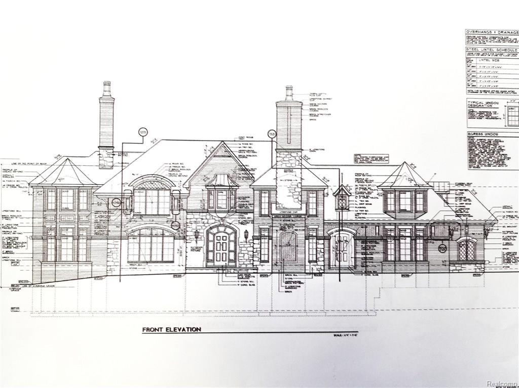 Bloomfield Hills Michigan Property Tax Information